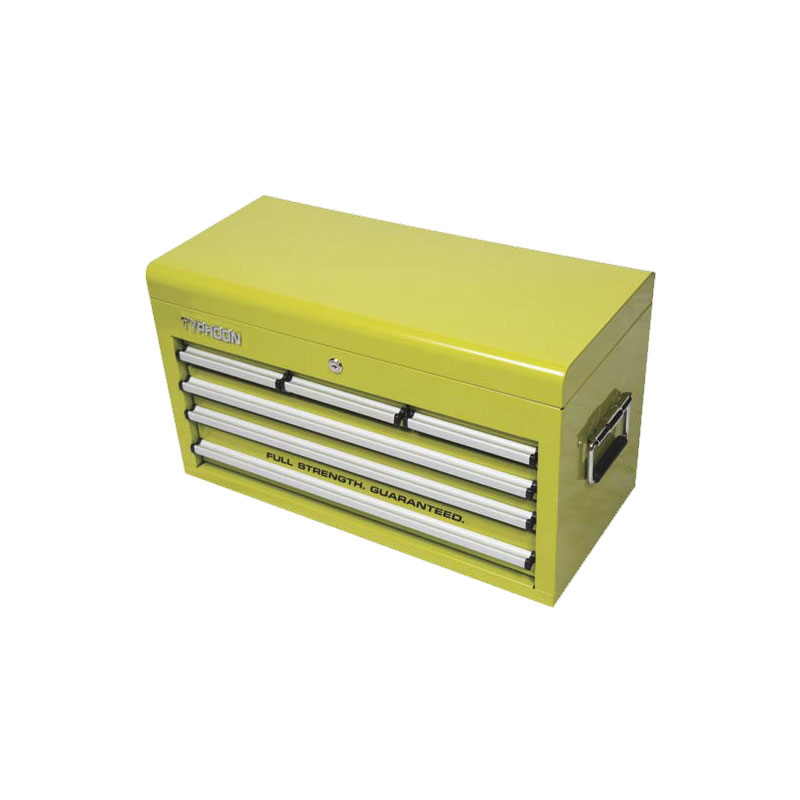 6 drawer tool chest green typhoon tools