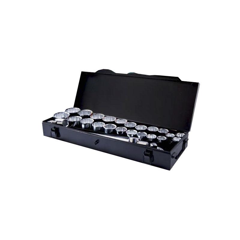 "70015 – 27pce 3/4"" Drive AF & METRIC Socket Set"