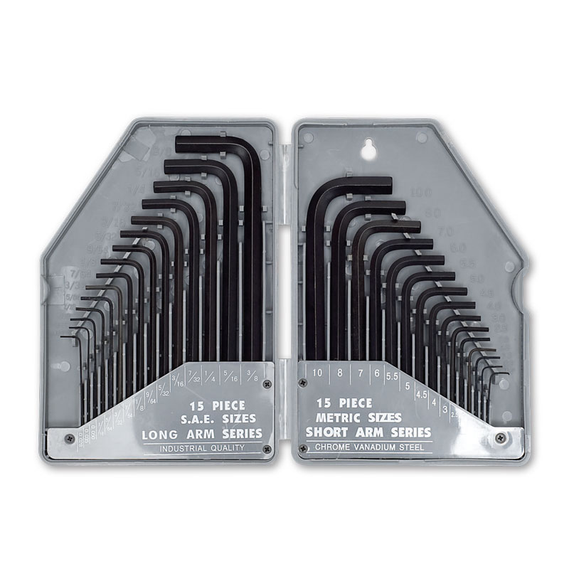 70600 – 30pce Hex Key Set AF & Metric