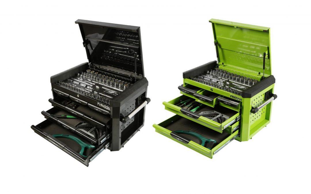 70970B & 70970G: 6 Drawer, 188pce AF & Metric Toolkit – Black or Green