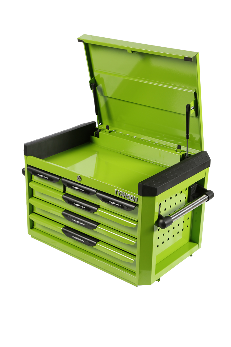 70832 6 Drawer Deep Toolchest Green – Series 2