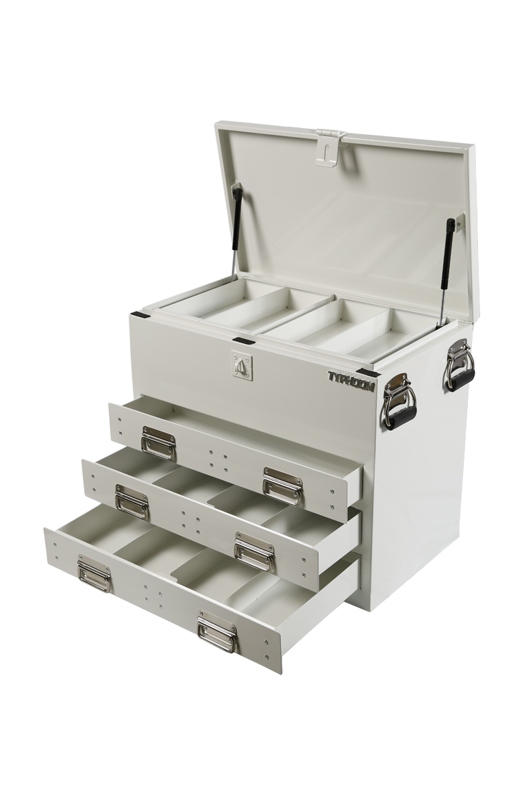 70860 3 Drawer Ute Box White