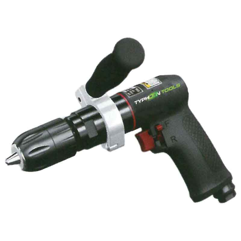 73076 – 1/2″ Reversible Drill with STD Keyed Chuck