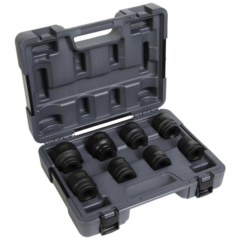 "72510 – 3/4"" Drive 8 PCE Metric Standard Impact Socket Set"