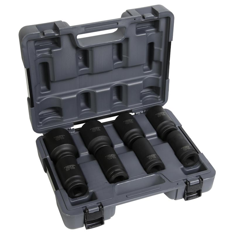 "72511 – 3/4"" Drive 8 PCE Metric Deep Impact Socket Set"