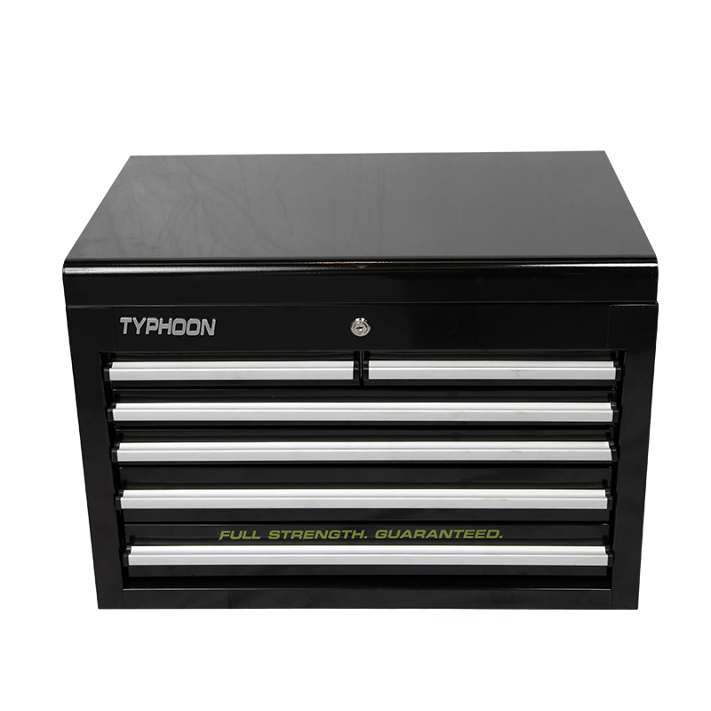 70810-6 DRAWER DEEP TOOLCHEST BLACK