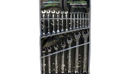 70028 – 20PC Metric Combination Spanner Set